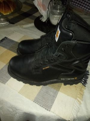 Carhartt men's 6 in Metatarsal Gaurd EH Steel Toe Lace Up Work Boots Genuine Leather Size 10 1/2 for Sale in San Antonio, TX