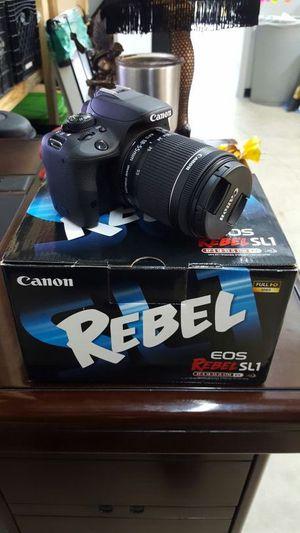 Canon EOS Rebel SL1 EF-S 18-55 IS STM Kit for Sale in Las Vegas, NV