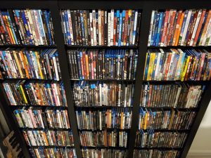 500+ DVD collection + display rack for Sale in Ocala, FL
