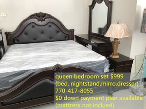 King size bedroom set for Sale in Norcross, GA