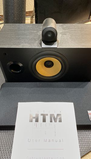 Bower Wilkins matrix htm center speaker for Sale in Seattle, WA