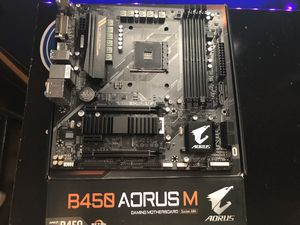 Gigabyte Aorus B450m Motherboard (amd) for Sale in Lincoln, CA