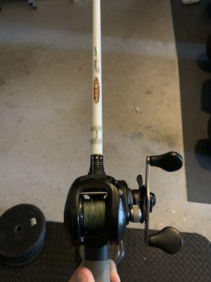Lews fishing reel . Duckett rod for Sale in Orlando, FL
