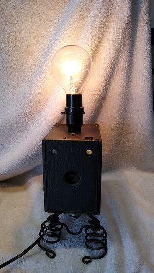 Vintage box camera lamp for Sale in Port Orange, FL