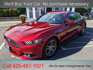 2017 Ford Mustang EcoBoost for Sale in Woodinville, WA