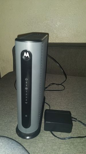 Motorola modem plus n450 router MG7315 for Sale in Carson, CA