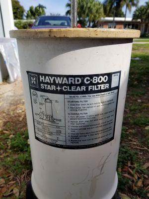 HAYWARD C800 POOL FILTER ASSEMBLY for Sale in Hillsboro Beach, FL