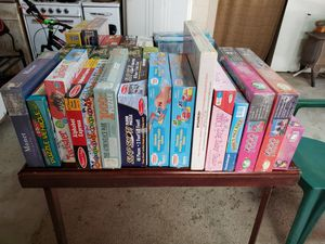 Puzzles and board games for Sale in Bailey, NC