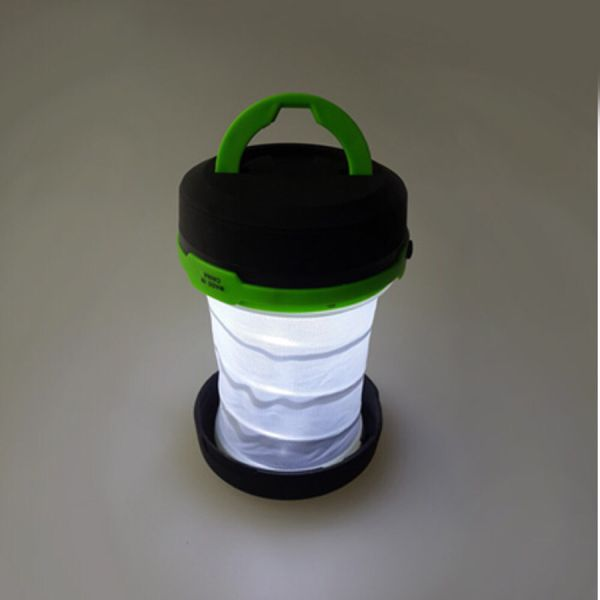 Foldable LED camping light