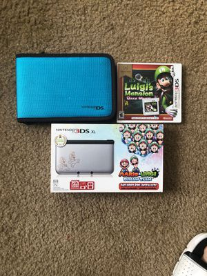 Nintendo 3DS xl with pre-installed Mario & Luigi dream team game. for Sale in Norfolk, VA