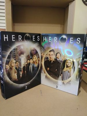 Heroes Seasons 2&3 perfect condition for Sale in Round Rock, TX
