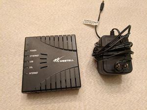 DSL modem westell for Sale in Lilburn, GA