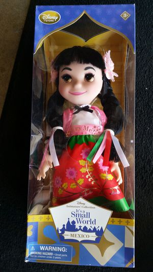Small world Disney(Plays song) Mexico doll for Sale in Santa Ana, CA