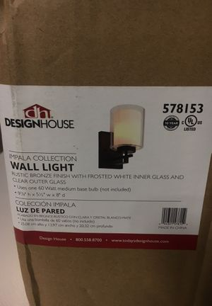 Design house wall light for Sale in Riverside, CA