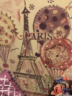 Girls Room Paris Theme Decor for Sale in Thornton, CO