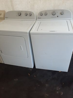 Choice of whirlpool washer and dryer sets for Sale in Plant City, FL