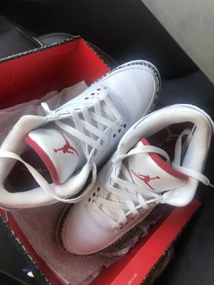 Men's retro Jordan 3's for Sale in Silver Spring, MD