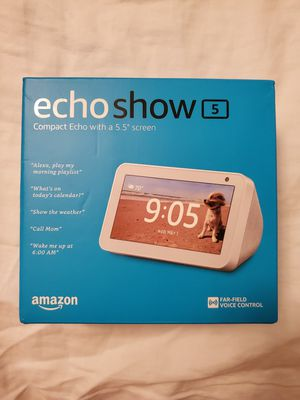 Amazon Echo Show 5 Brand New Sealed Unopened for Sale in Chula Vista, CA