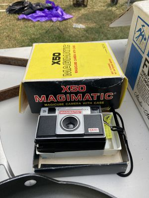 X50 Magimatic vintage film camera for Sale in Springfield, MA