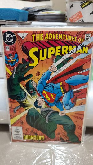 DC COMIC , The adventures of superman, DOOMSDAY for Sale in Albuquerque, NM