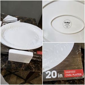 Table Top Gallery harvest Oval Serving Platter / platon para servir comida platillo for Sale in Henderson, NV