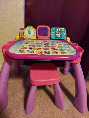 Kids vtech learning desk for Sale in Aurora, CO