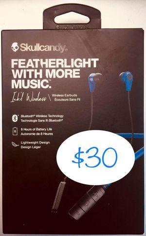 "SKULLCANDY ""INK'D WIRELESS"" BLUETOOTH HEADPHONES for Sale in Houston, TX"