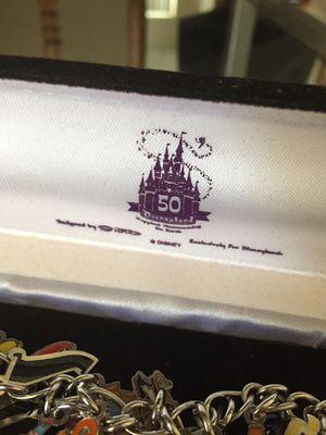 Disneyland 50th anniversary charm bracelet for Sale in Rancho Cucamonga, CA
