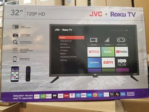 "32"" LED high definition 1080P BY jvc WITH ROKU STREAMING. ENDLESS ENTERTAINMENT for Sale in Los Angeles, CA"