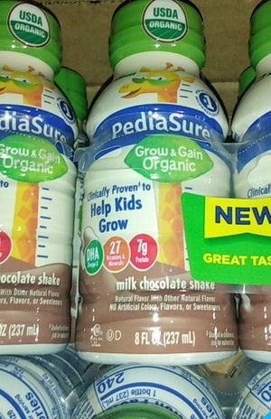 Pediasure organic/3 cases of 24 bottles for Sale in Los Angeles, CA