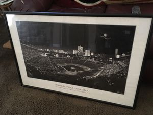 Wrigley Field picture 24x36 for Sale in Roseville, CA