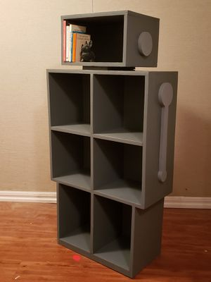 Robot Bookcase(New, Hand-crafted,Wood) for Sale in Chappaqua, NY