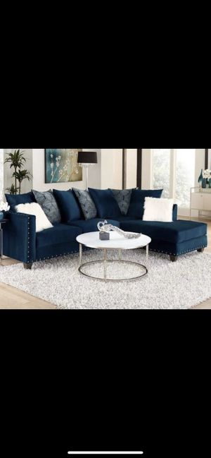 """Sectional """"L"""" Shape Couch $350 ! Pick Up Only for Sale in Riverdale, GA"""