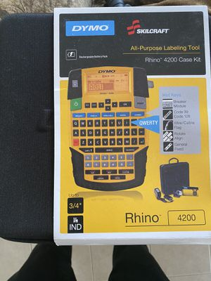 Dymo Rhino 4200 All Purpose Labeling Kit for Sale in Fort Walton Beach, FL