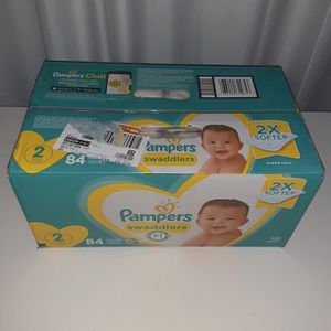 Pampers Swaddlers Size 2 Count 84 for Sale in Atlanta, GA