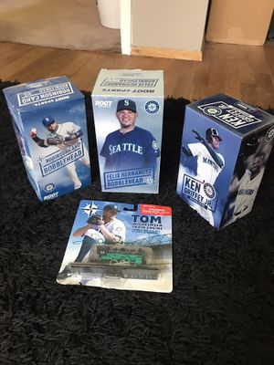 MARINERS BOBBLEHEAD SET for Sale in Bellevue, WA