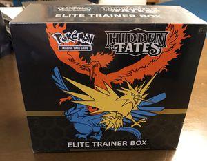 Pokémon Hidden Fates Elite Trainer Box (Sealed) for Sale in Long Beach, CA
