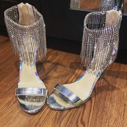 New! Bling Fringe Heels for Sale in Arlington,  VA
