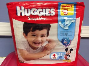 Huggies Snug & Dry size 4 for Sale in Bloomfield, CT