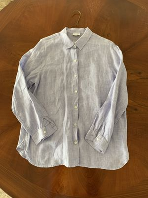 JJill linen tunic blouse for Sale in Hartford, CT