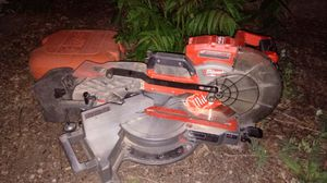 Milwaukee 10' compound sliding miter saw for Sale in Denver, CO