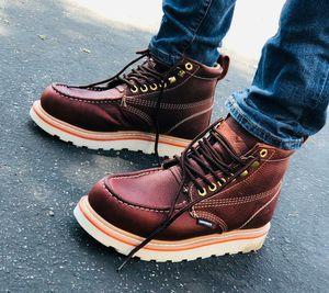 Botas de trabajo / Work Boots --- Handmade Leon Gto Mex --- Piel Aceitada --- Garantizadas for Sale in South Gate, CA