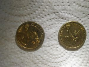 COINS- 2007 Presidential coins George Washington and John Adams for Sale in Bay Springs, MS