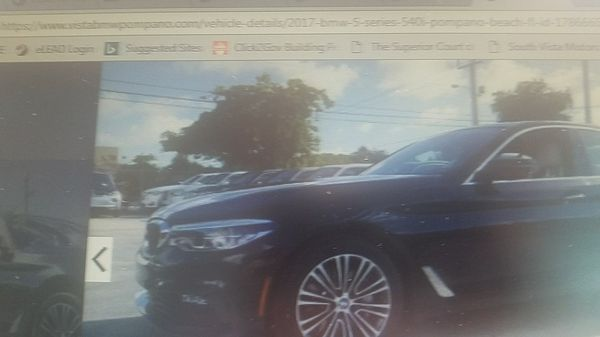 2017 BMW 540i VISTA BMW POMPANO
