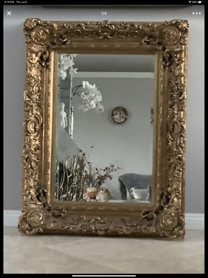 """56""""x46"""" large gorgeous mirror, this mirror is stunning land must see, very heavy because of wrought iron frame for Sale in Laguna Niguel, CA"""