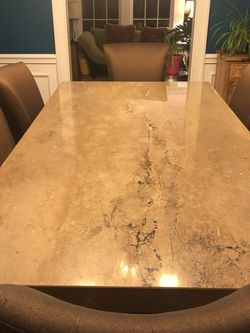 Travertine Dining Table and Sideboard for Sale in Shaker Heights,  OH