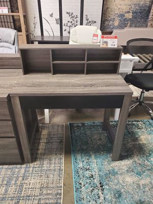 Mindy Student Desk, Distressed Grey an Black for Sale in Santa Ana, CA