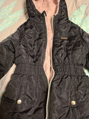 DKNY warm jacket for girls, size 6x for Sale in Seattle, WA