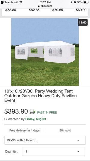 tent outdoor gazebo carpa for Sale in El Mirage, AZ