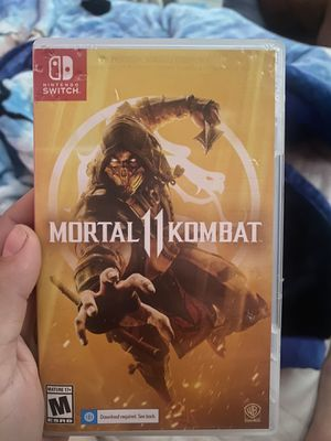Nintendo Switch Mortal Kombat for Sale in Los Angeles, CA